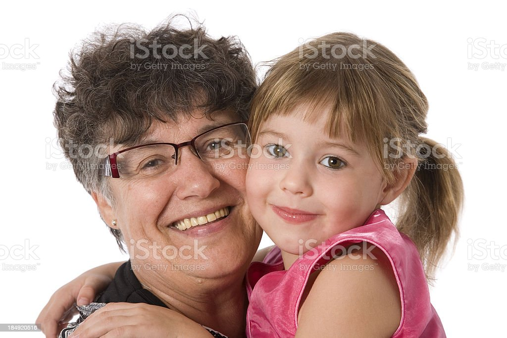 Grand Daughter royalty-free stock photo