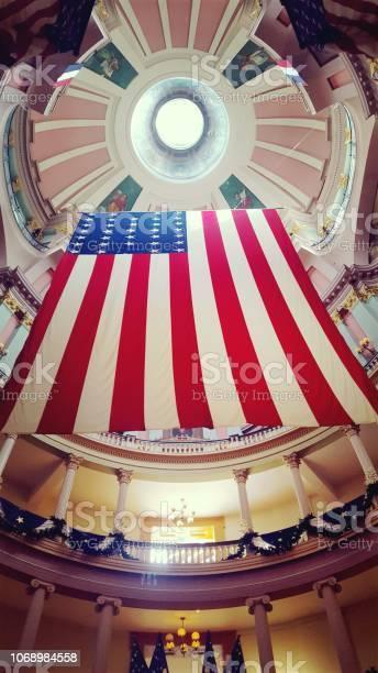 Grand drapeau Américain (photo1)