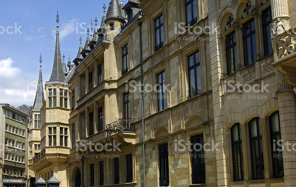 Grand Ducal Palace, Luxembourg stock photo