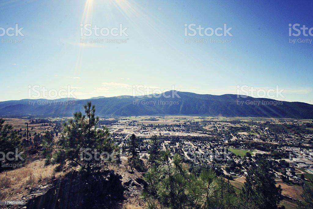 Grand Forks, British Columbia stock photo