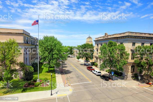 Grand Forks North Dakota Stock Photo - Download Image Now