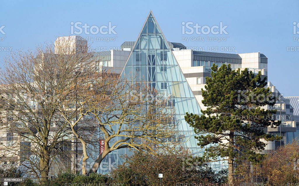 Grand Harbour Hotel in Southampton stock photo