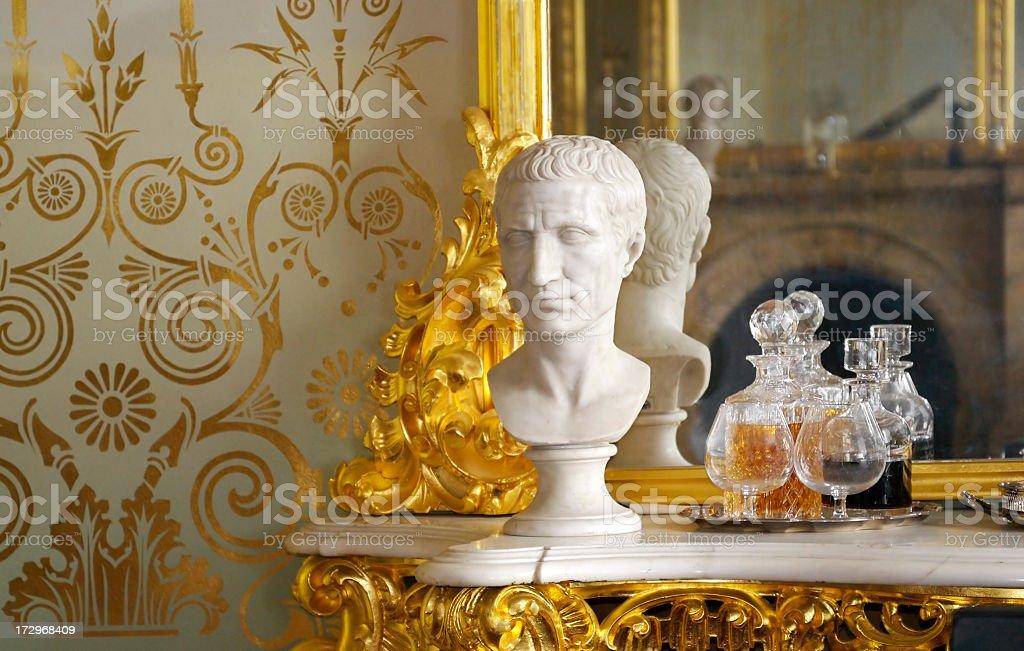 Grand historic interior royalty-free stock photo