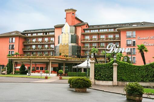 Grand Hotel Dino at Lago Maggiore, Baveno, Italy.