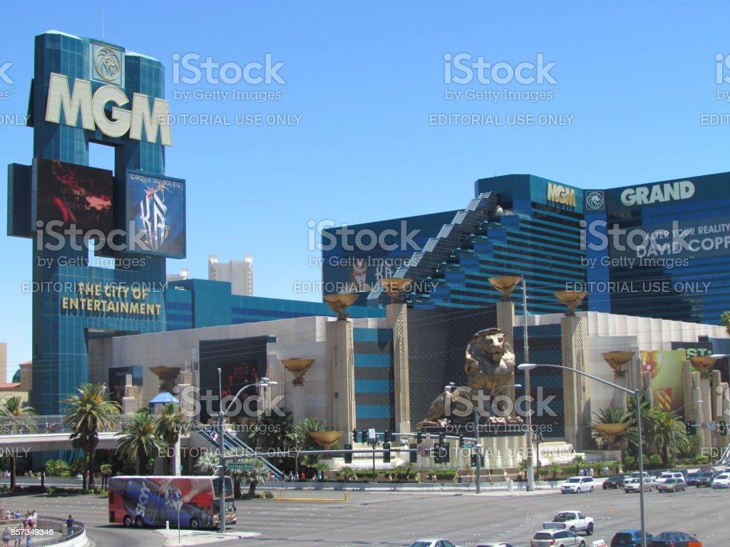 MGM Grand Hotel in Las Vegas stock photo