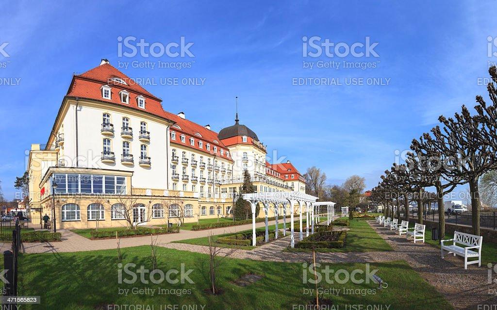 Grand Hotel In Sopot Stockfoto Und Mehr Bilder Von Alt Istock