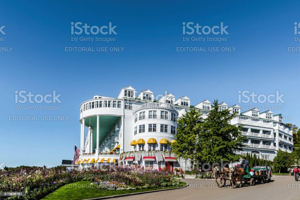 Grand Hotel stock photo