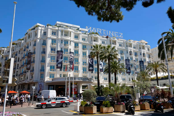 Grand Hyatt Cannes Hotel Martinez, front view