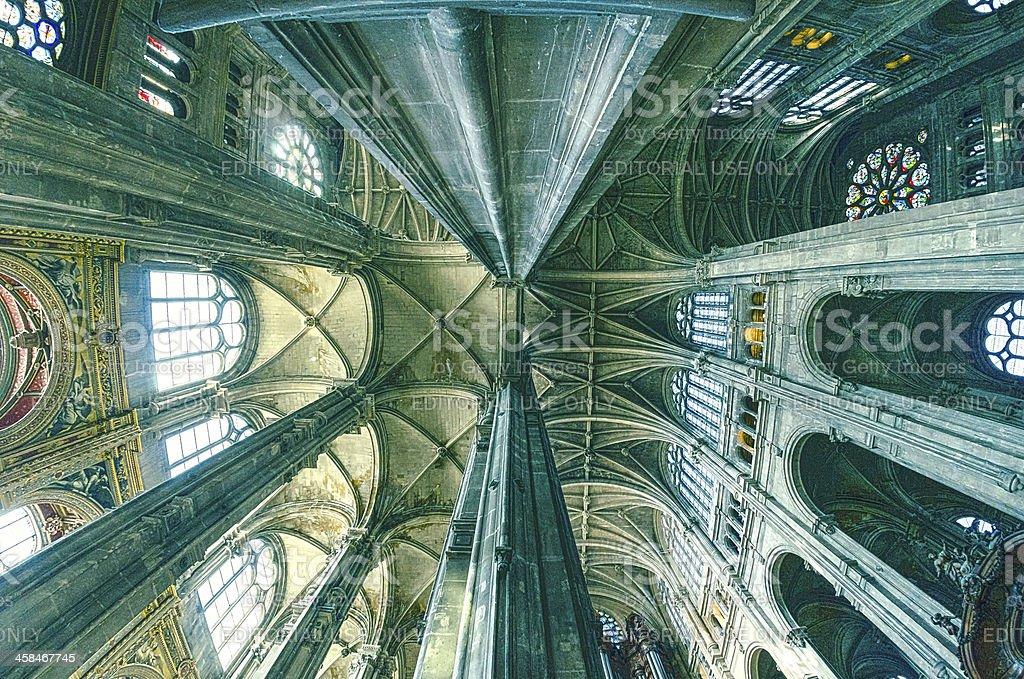 grand interior do marco Igreja Santo Eustáquio - Foto de stock de Alto - Descrição Geral royalty-free