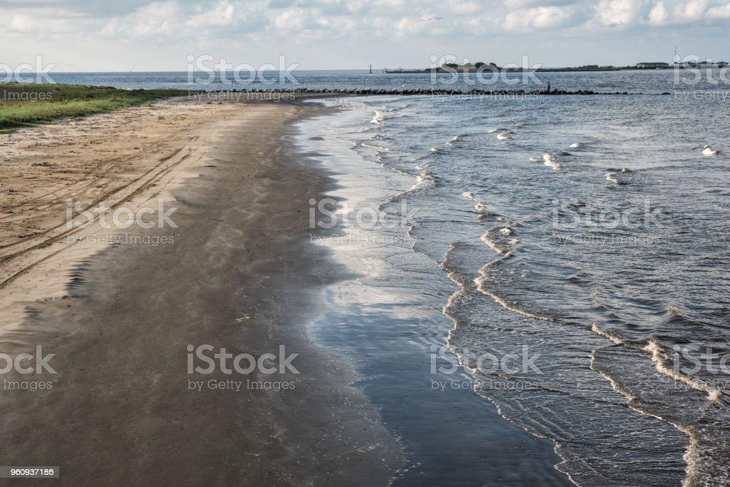 Grand Isle, Jefferson Parish, Louisiana Lizenzfreies stock-foto
