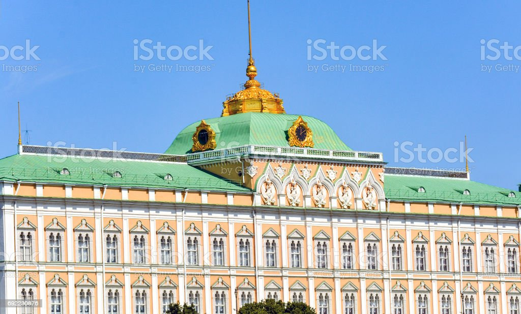 Grand Kremlin Palace stock photo