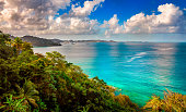 Located north of the capital St George's in the caribbean island of Grenada.