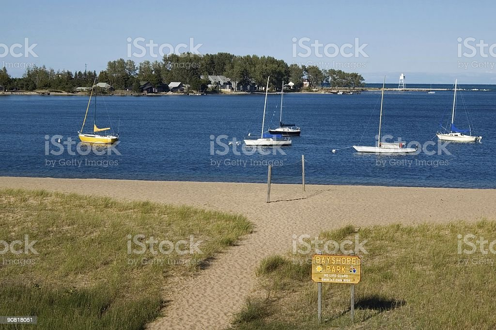 Grand Marais royalty-free stock photo