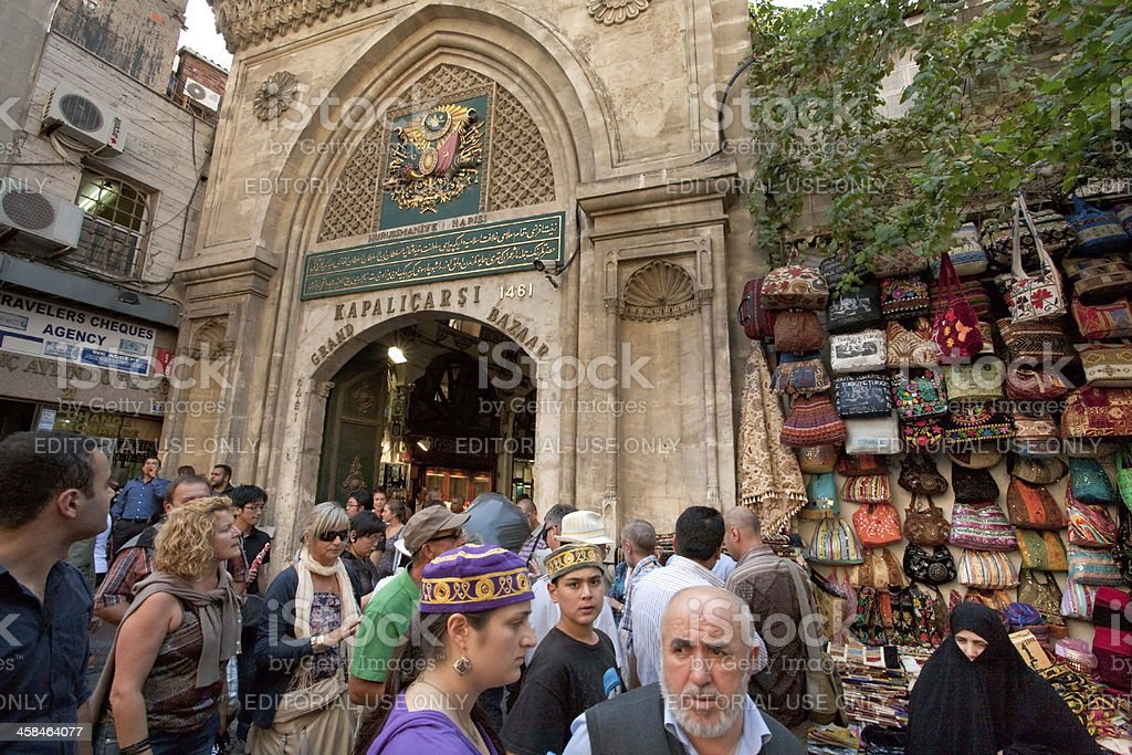 Grand Market in Istanbul, Turkey royalty-free stock photo