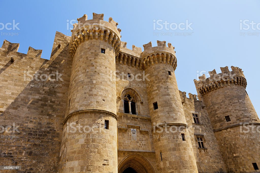 grand master of rhodes stock photo