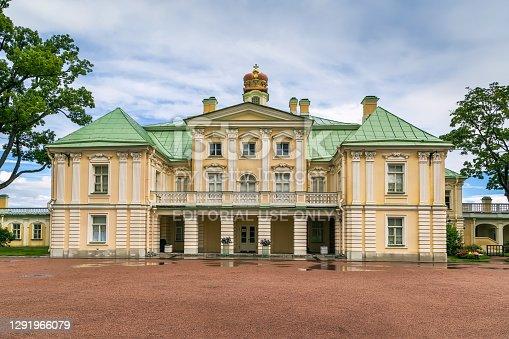 istock Grand Menshikov Palace, Oranienbaum, Russia 1291966079