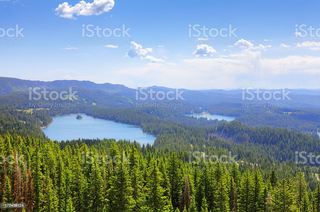 Grand Mesa - Colorado, USA stock photo
