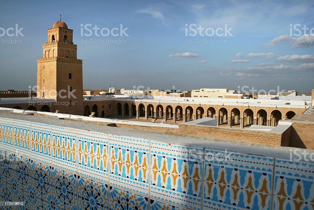 Grand Mosque of Kairouan stock photo