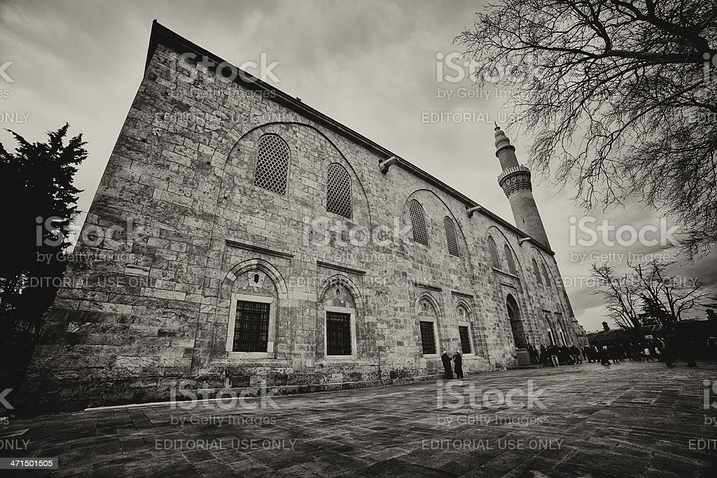 Grand Mosque royalty-free stock photo
