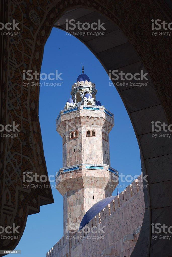 Grand Mosque Touba, Senegal stock photo