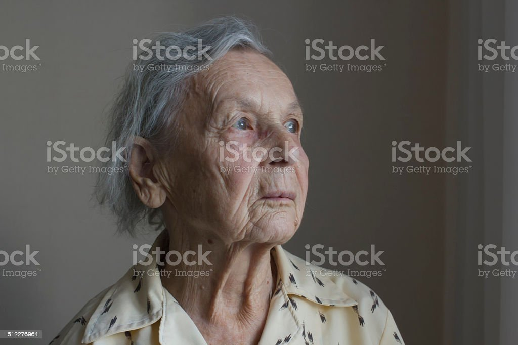 grand mother royalty-free stock photo