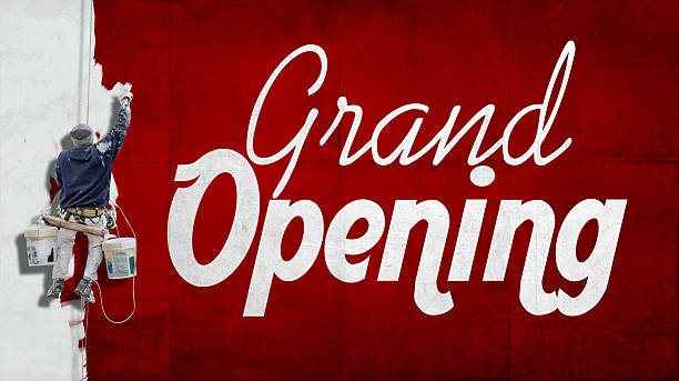 gran inauguración - gran inauguración fotografías e imágenes de stock