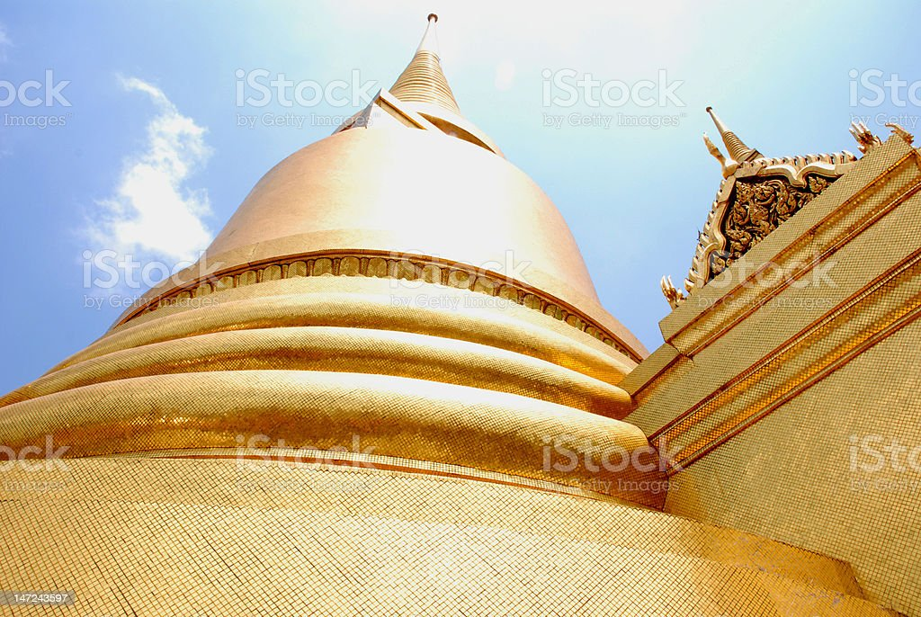 Grand Palace Bangkok royalty-free stock photo