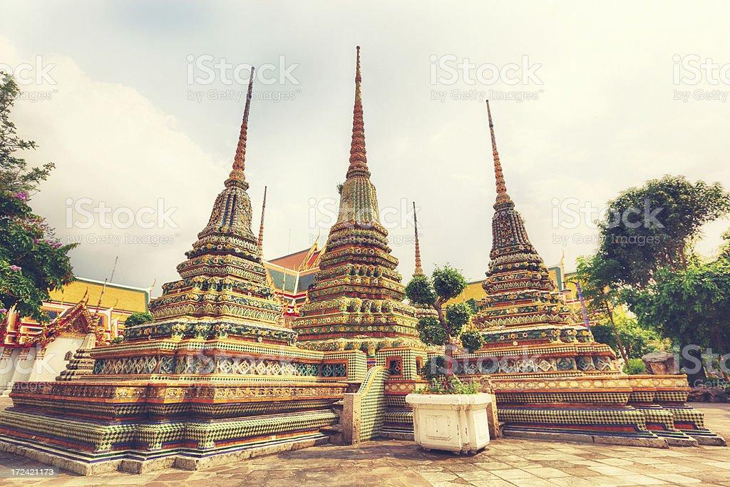 Grand Palace, Bangkok royalty-free stock photo
