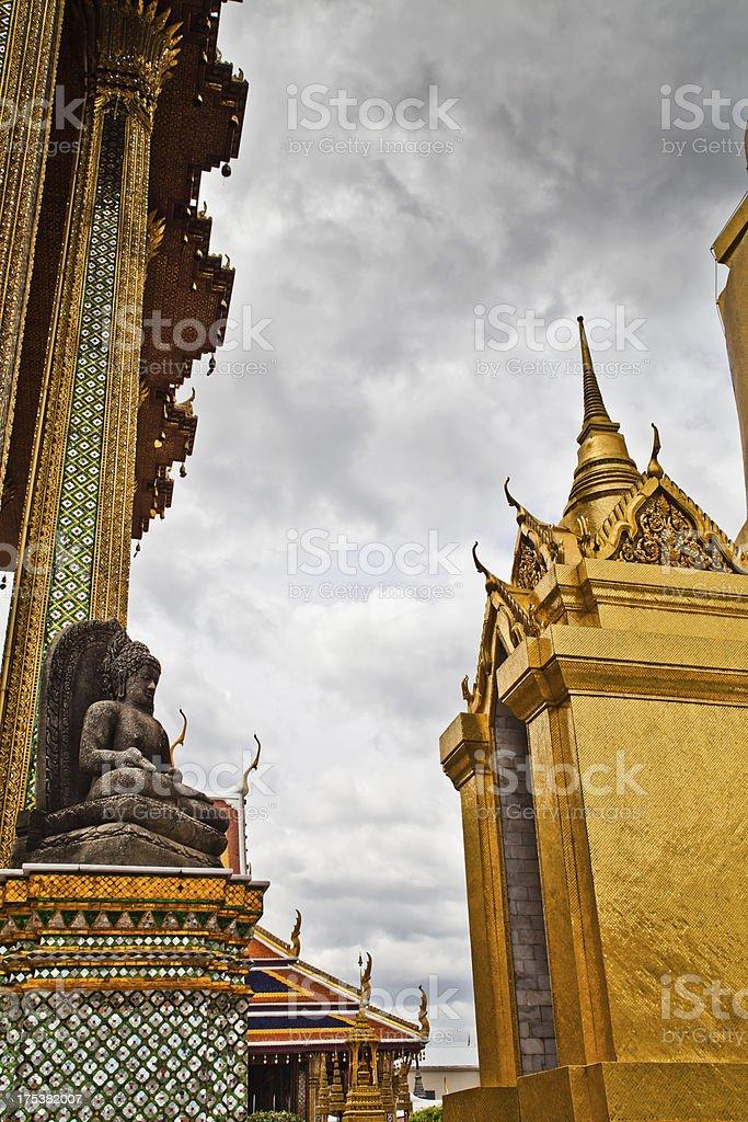 HDR Grand Palace, Bangkok, Thailand. stock photo
