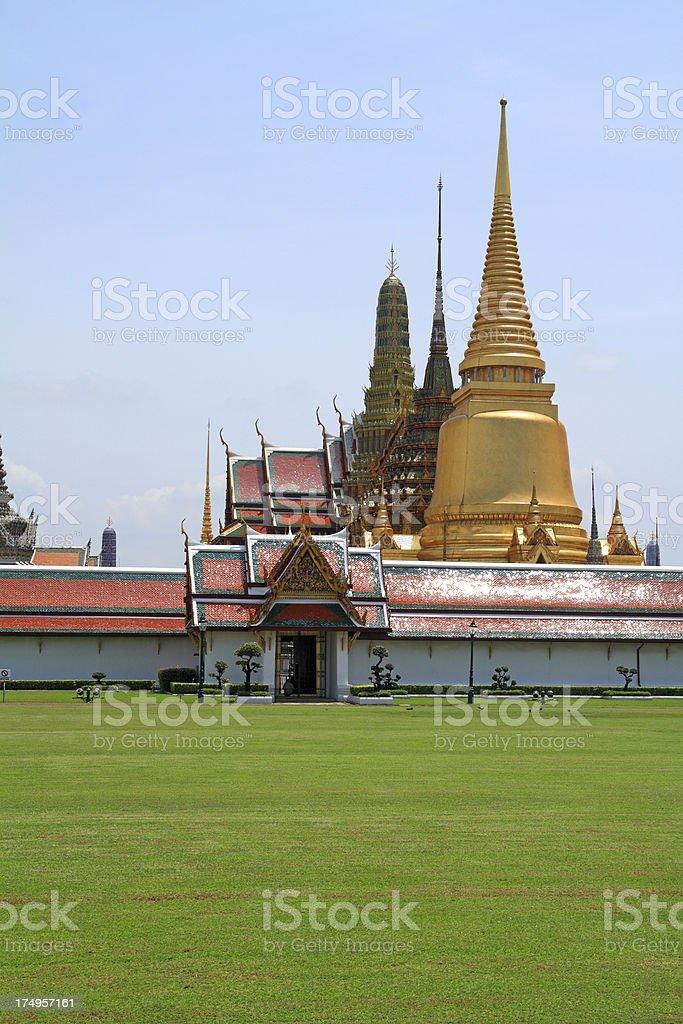 Grand Palace entrance royalty-free stock photo