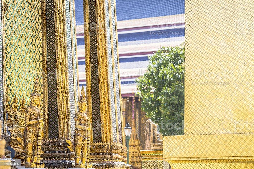 Grand Palace in Bangkok royalty-free stock photo