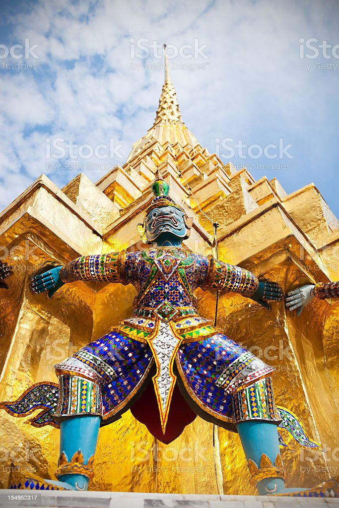 Grand Palace In Bangkok, Thailand royalty-free stock photo