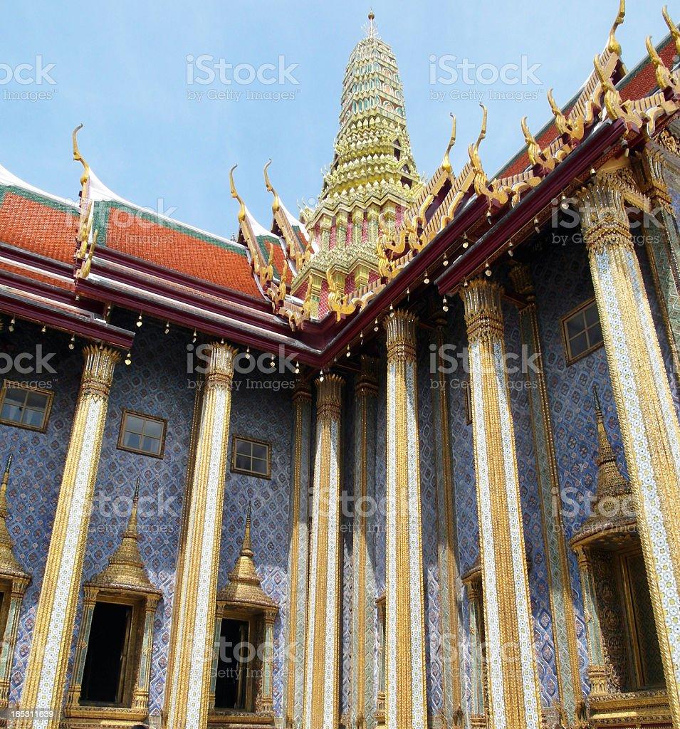 Grand Palace in Bangkok, Thailand royalty-free stock photo