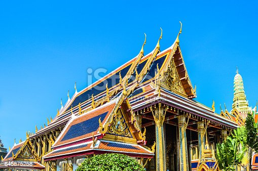 The Grand Palace is a complex of buildings at the heart of Bangkok, Thailand. The palace has been the official residence of the Kings of Siam since 1782.