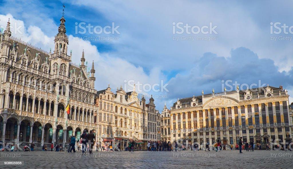 Grand Palais dans le centre de Bruxelles Belgique - Photo