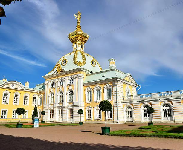 grand palace peterhof - peterhof stockfoto's en -beelden