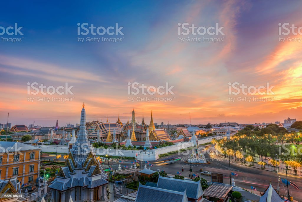Grand palace stock photo