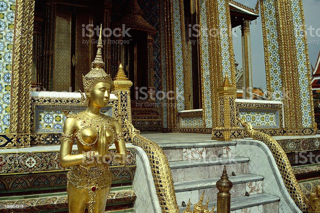 Grand Palace Statue - Bangkok, Thailand stock photo