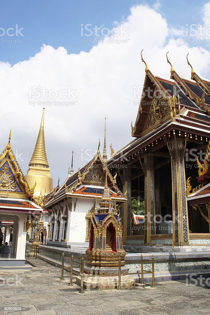 Grand Palace - Thailand stock photo