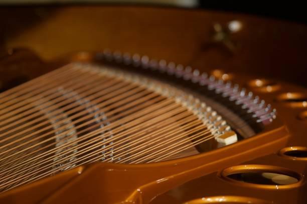 小大廳裡的大鋼琴圖像檔