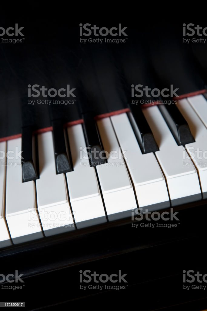 Grand Piano (XL) royalty-free stock photo