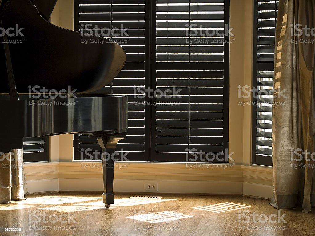Piano de Cauda foto de stock royalty-free