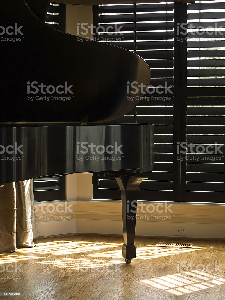 Grand Piano royalty-free stock photo