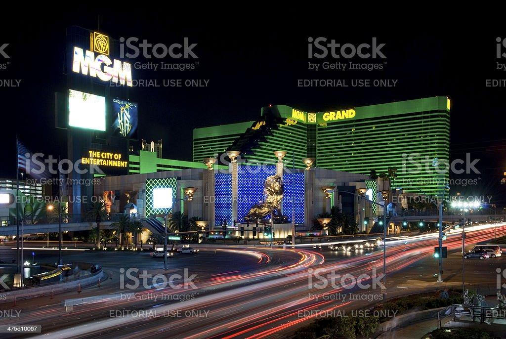Las Vegas, USA - September 4: MGM Grand stock photo