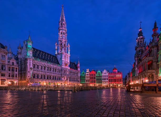 Grand Place - Bruxelles, Belgique - Festival des fleurs - Photo