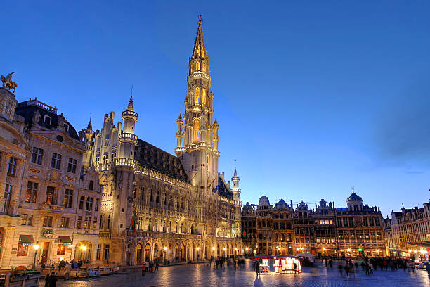Grand Place, Brussels, Belgium stock photo