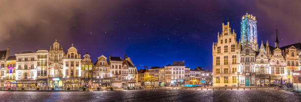 Grand Place in Mechelen - near Brussels - Belgium - Photo
