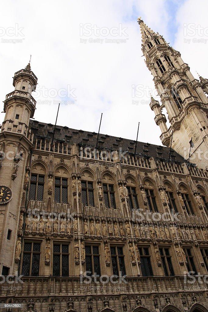 Grand Place Lizenzfreies stock-foto