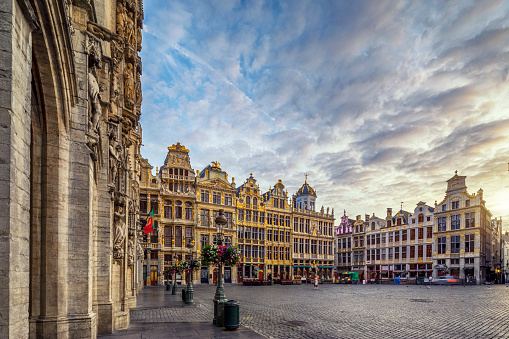 Grand Place Square in Brussels, Belgium