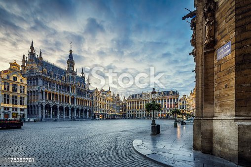 istock Grand Place Square in Brussels, Belgium 1175382761